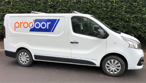 Prodoor new van